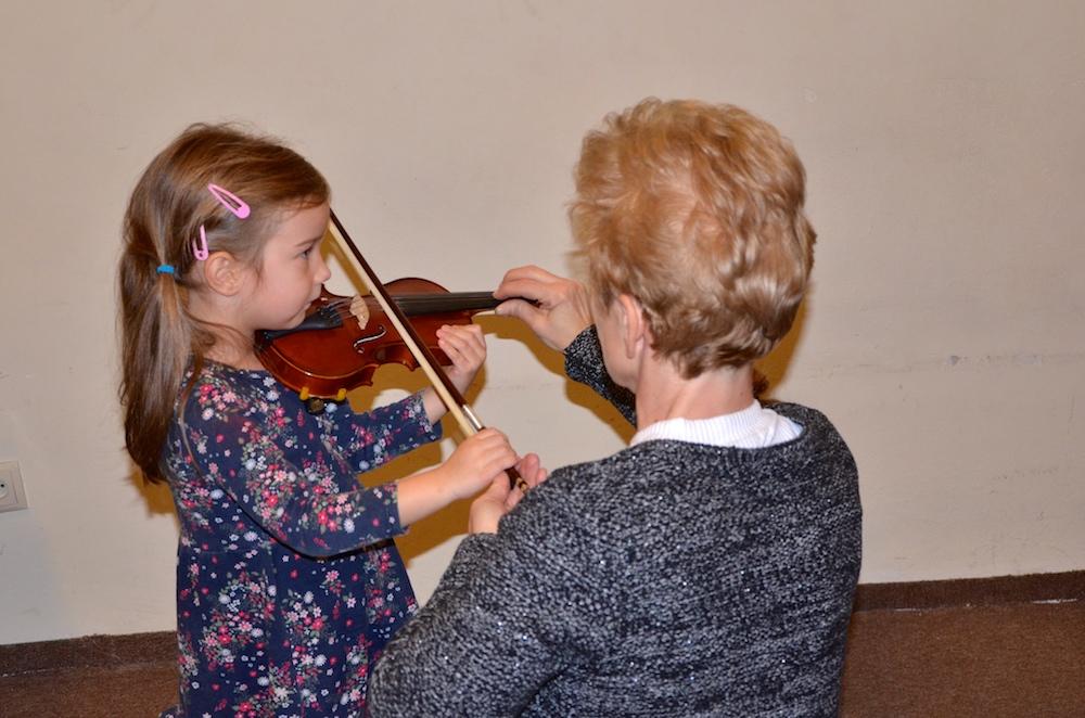 Pokaz skrzypiec
